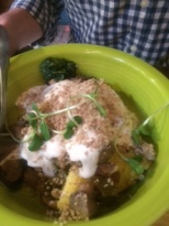 Polenta bowl at Cafe Gratitude